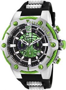 【送料無料】腕時計 ウォッチメンズクォーツクロノグラフステンレススチールブラックシリコンウォッチ