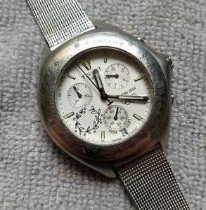 【送料無料】腕時計 ウォッチティソクロノグラフウォッチアテネオリンピックエディションtissot chronograph watch athens 2004 olympics edition
