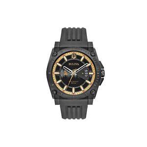 【送料無料】腕時計 ウォッチメンズグラミークオーツステンレススチールシリコーンカジュアルブラック