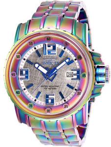 【送料無料】腕時計 ウォッチメンズプロダイバートーンステンレススチールウォッチinvicta mens pro diver automatic iridescent tone stainless steel watch 26030