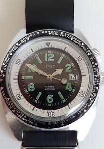 【送料無料】腕時計 ウォッチビンテージワールドタイマーフランスダイバーコンプレッサウォッチvintage worldtimer pat french diver compressor taucheruhr