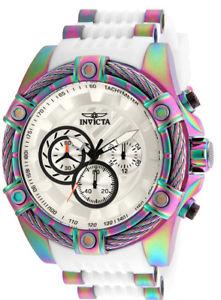 【送料無料】腕時計 ウォッチメンズボルトクオーツクロノグラフトーンステンレススチールinvicta mens bolt quartz chronograph iridescent tone stainless steel watch 2553