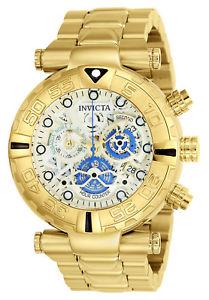 【送料無料】腕時計 ウォッチクロノイエローブレスレットinvicta 24989 mens subaqua noma i chrono yellow bracelet watch