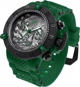 腕時計 ウォッチメンズステンレススチールグリーンシリコンウォッチinvicta mens subaqua quartz 200m stainless steelgreen silicone watch 26563