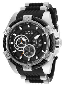【送料無料】腕時計 ウォッチメンズボルトクロノグラフスチールポリウレタンシリコンウォッチinvicta mens bolt chronograph 100m s steel polyurethanesilicone watch 25523