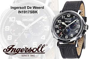腕時計 ウォッチingersoll de weerd in1917sbk automatik 44mm eine legende die lebt