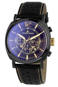 【送料無料】腕時計 ウォッチジャックルマンルガノクロノグラフメンズウォッチクロノjacques lemans chronograph herrenuhr lugano chrono 11645o