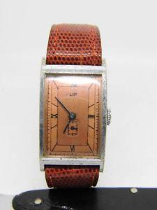 【送料無料】腕時計 ウォッチリップアンスmontre lip t18 mouvement mcanique vers 1940 anse fixes