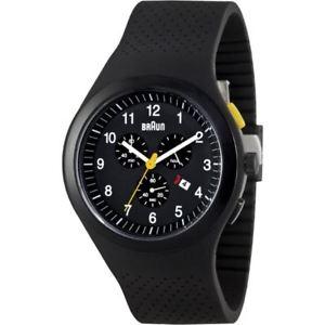 【送料無料】腕時計 ウォッチブラウンユーロブラックスポーツウォッチシリコーン