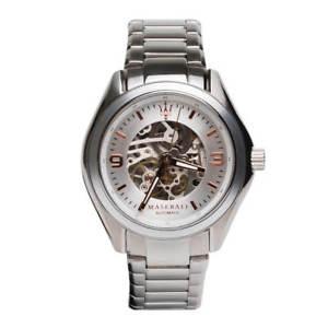 【送料無料】腕時計 ウォッチマセラティマセラティメンズスチールブレスレットmaserati r8823124001 mens sorpasso steel bracelet automatic watch