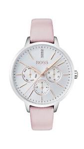【送料無料】腕時計 ウォッチボスレディースアナログマルチウォッチレザーピンクboss damenuhr 1502419 analog multifunktion leder rosa