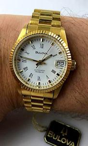 腕時計 ウォッチスケルトンコロナスイスorologio bulova automatico skeleton watch 32mm corona a vite nos swiss made