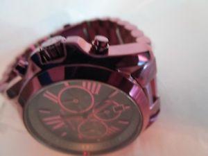 腕時計 ウォッチドルウォッチ250 michael kors authentic bradshaw plumtone mk6398 limited edition  watch