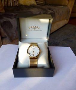 【送料無料】腕時計 ウォッチロータリースリムゴールドメッキメッシュストラップウォッチrotary gents slim gold plated watch mesh strap gb0261321