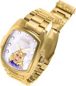 【送料無料】腕時計 ウォッチメンズルグランドゴールドストーンブレスレット mens invicta 25966 grand lupah muppets le gold tone bracelet watch