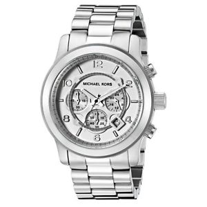 【送料無料】腕時計 ウォッチミハエルメンズクロノグラフステンレススチールシルバーウォッチ michael kors mk8086 mens chronograph stainless steel silver 45mm watch