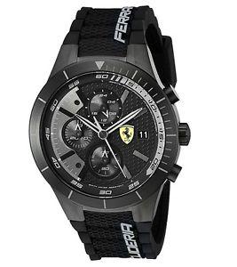 【送料無料】腕時計 ウォッチメンズスクーデリアフェラーリアナログクォーツmens scuderia ferrari 830262 redrev evo analog display quartz watch 46mm