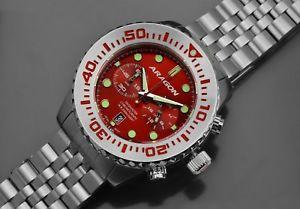 【送料無料】腕時計 ウォッチアラゴンダイブマスターフライバッククロノ
