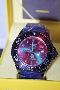 腕時計 ウォッチメンズグランドダイバークリスタルステンレススチールブレスレットinvicta mens 54mm grand diver automatic tinted crystal stainless steel bracelet