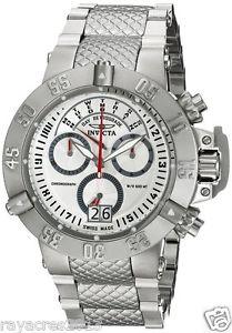 【送料無料】腕時計 ウォッチメンズスイスクォーツアナログinvicta mens 17612 subaqua analog display swiss quartz silver watch