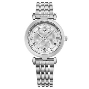 腕時計 ウォッチアレクサンダーモナークスイスクオーツステンレススチールウォッチalexander monarch olympias a202b01 women swiss quartz stainless steel watch