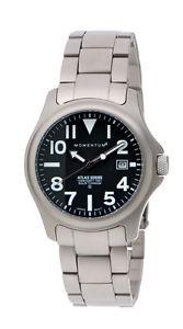【送料無料】腕時計 ウォッチアトラスソリッドチタンスキューバダイビングウォッチチタニウムブレスレットmomentum atlas solid titanium scuba dive watch w titanium bracelet all colors