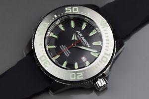 【送料無料】腕時計 ウォッチアラゴンダイブマスターaragon a058blk divemaster nh35 50mm
