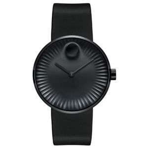【送料無料】腕時計 ウォッチエッジブラックラバーストラップメンズウォッチ