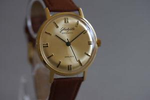 【送料無料】腕時計 ウォッチグラスヒュッテマチックgubglashtte spezimatic 26 rubis  datum, top zustand