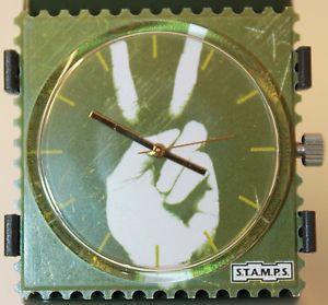 【送料無料】腕時計 ウォッチグリーンスタンプstamps uhr green peace 103572 neu original verpakt stamps