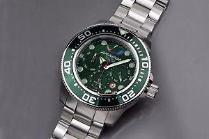 【送料無料】腕時計 ウォッチアラゴンダイブマスターaragon a061grn divemaster 9100 45mm