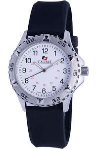 【送料無料】腕時計 ウォッチキャリバーメンズシーウルフステンレススチールシリコンウォッチcalibre mens sc4s104001r sea wolf stainless steel and silicone watch