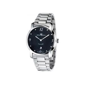 【送料無料】腕時計 ウォッチフィリップドナウォッチorologio philip watch couture r8253198825 bracciale acciaio nero uomo donna