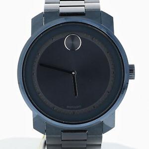 【送料無料】腕時計 ウォッチボールドメンズブラックステンレススチールバッテリークォーツ