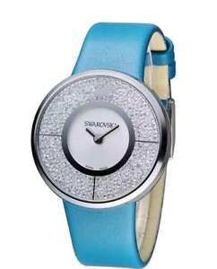 【送料無料】腕時計 ウォッチスワロフスキークリスタルラインorologio swarovski crystalline turchese 5186452