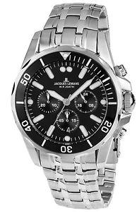 【送料無料】腕時計 ウォッチジャックルマンメンズウォッチクロノグラフリバプールダイバークロノゼjacques lemans herrenuhr chronograph liverpool diver chrono 11907ze