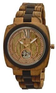 【送料無料】腕時計 ウォッチオロロジオゲントウォッチorologio green time automatico uomo watch wood zw071a legno sandalo 43mm gent