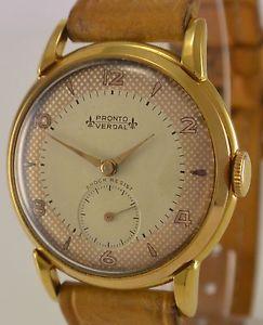 【送料無料】腕時計 ウォッチプロントメンズウォッチpronto verdal 15 jewels handaufzug herrenuhr