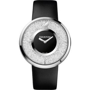 【送料無料】腕時計 ウォッチスワロフスキークリスタルラインorologio swarovski crystalline nero 1135988
