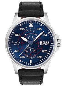 【送料無料】腕時計 ウォッチボスメンズboss herrenmultifunktionsuhr aviator 1513515