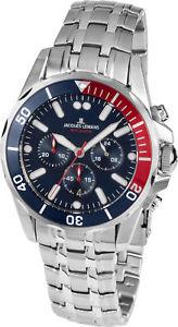 腕時計 ウォッチジャックルマンスポーツリバプールクォーツクロノグラフjacques lemans sport liverpool chronograph datum quarz 11907zf