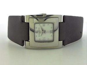 【送料無料】腕時計 ウォッチレディーススクエアレザーハーネスメルシエキャットウォーク authentic ladies square ss amp; leather baume amp; mercier catwalk m0a08169 watch