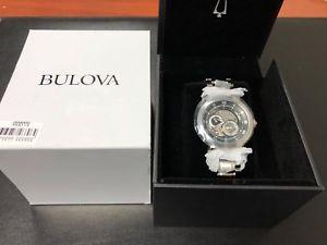 【送料無料】腕時計 ウォッチpリアウォッチorologio uomo automatico bulova 96a119 vp419 fondello vetro watch