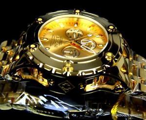 腕時計 ウォッチクロノグラフウォッチinvicta specialty subaqua 18kt gold plated high polished chronograph watch