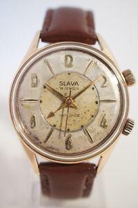 【送料無料】腕時計 ウォッチエリースラmontre sonnerie slava, annes 60