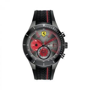 【送料無料】腕時計 ウォッチグラフィカルスクーデリアフェラーリorologio cronografo uomo ferrari redrev evo fer0830341 scuderia originale