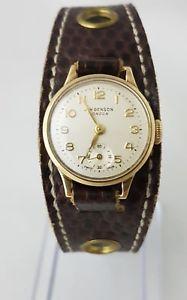 【送料無料】腕時計 ウォッチベンソンゴールドレディサービスj w benson 9ct gold lady watch serviced perfect working condition