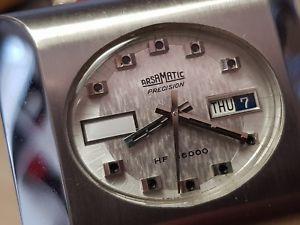 腕時計 ウォッチビンテージマティックケースvery rare vintage arsamatic precision hf 36000, xl case, nos condition
