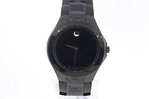 【送料無料】腕時計 ウォッチメンズスポーツブラックコーティングステンレススチール