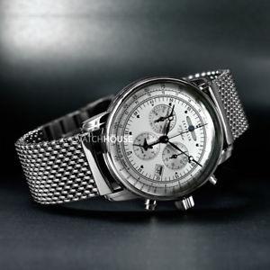 【送料無料】腕時計 ウォッチツェッペリンツェッペリンアラームクロノグラフメンズウォッチzeppelin 100 jahre zeppelin alarmchronograph 7680m1 herrenuhr